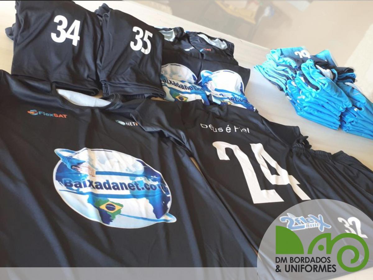 dae7141216 Uniforme de Futebol - DM Bordados   Uniformes - Confecção de ...